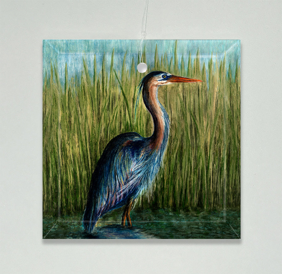 Blue Heron Ornament/Suncatcher