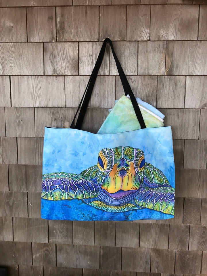 Face to Face Beach Bag
