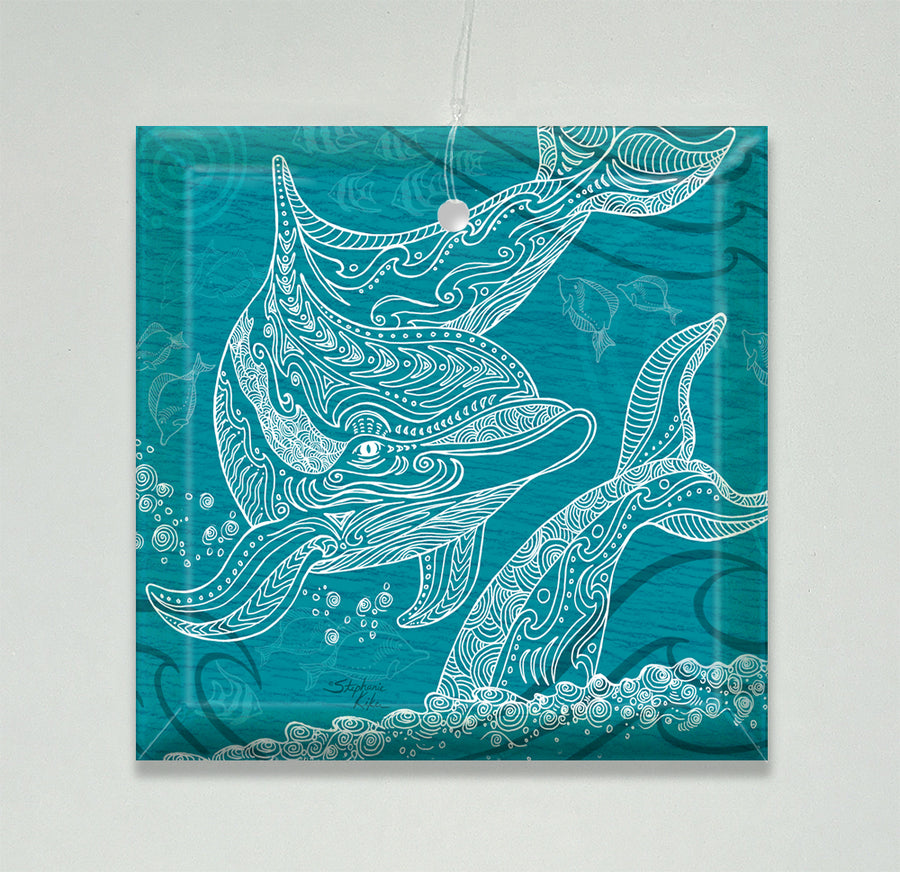 Dolphins One Color Ornament/Suncatcher