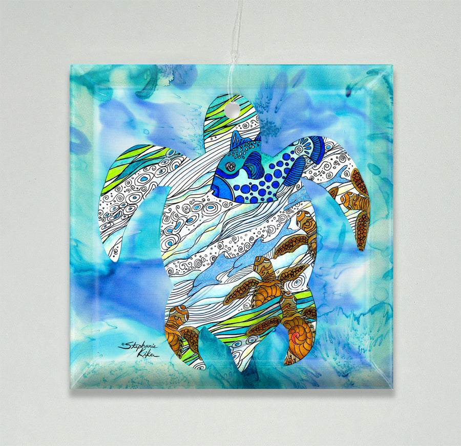 Into the Sea Ornament/Suncatcher