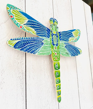 Green Dragonfly - Dragonfly Shape