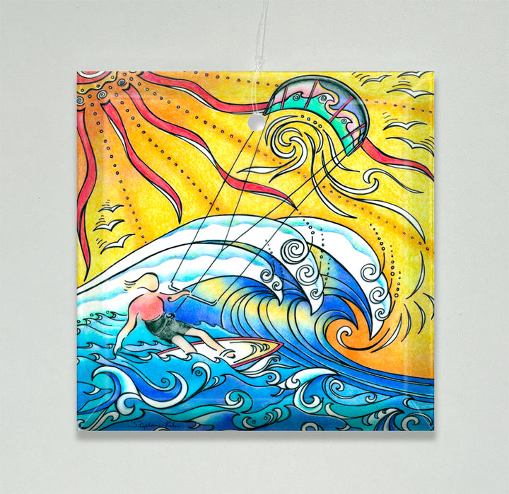 Wind and Waves Ornament/Suncatcher