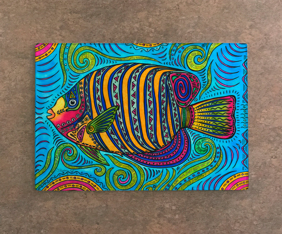 Angelfish Cutting Board