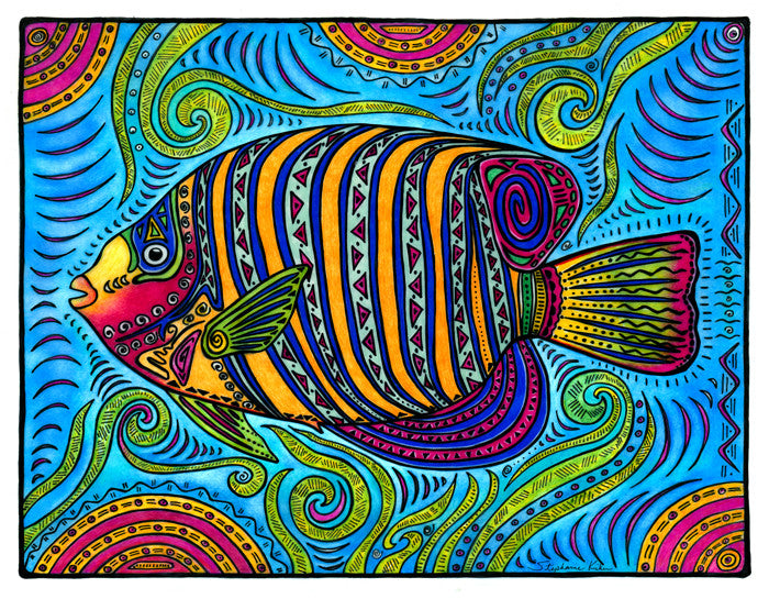 Angelfish Print