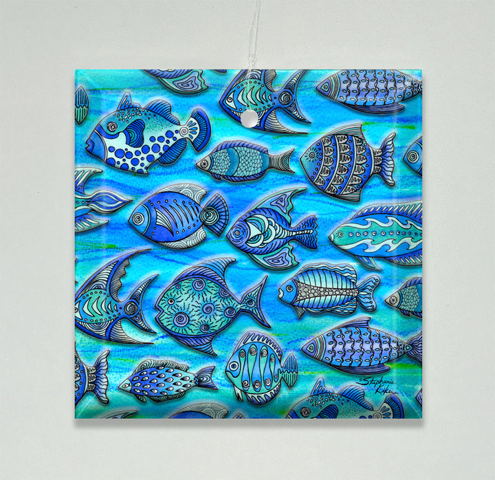 Funky Fish Ornament/Suncatcher