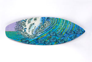 Ocean Life Surfboard Wall Art