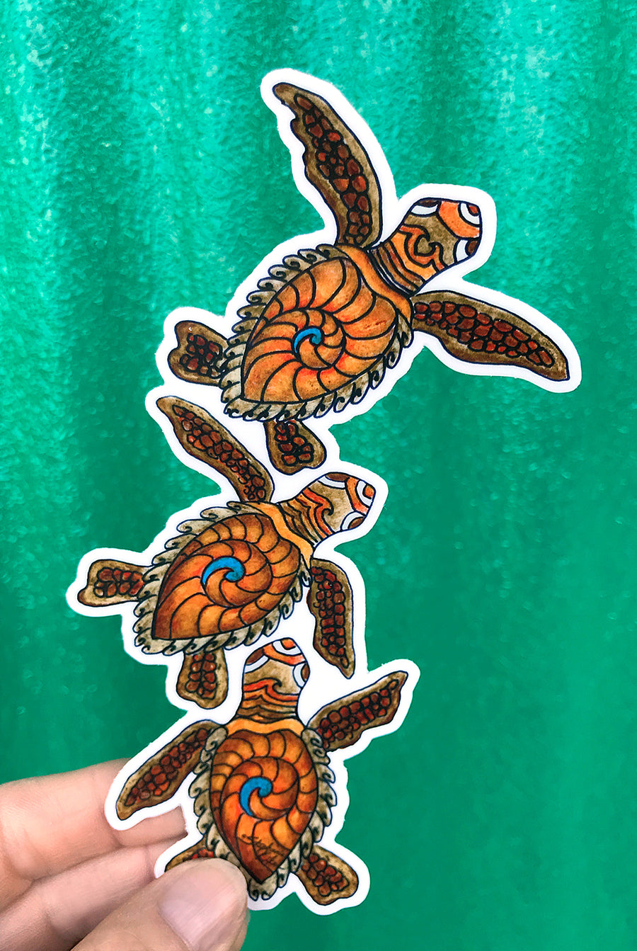 Baby Turtles Sticker