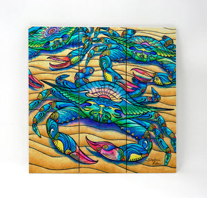 Blue Crabs Wall Art
