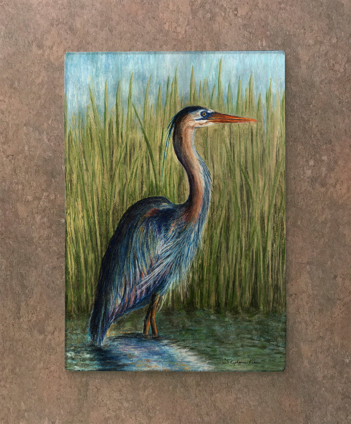 Blue Heron Cutting Board
