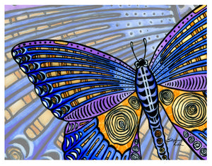 Butterfly Wings Print