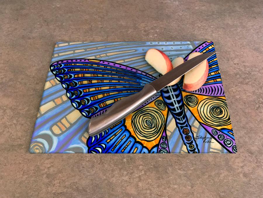 Butterfly Wings Cutting Board