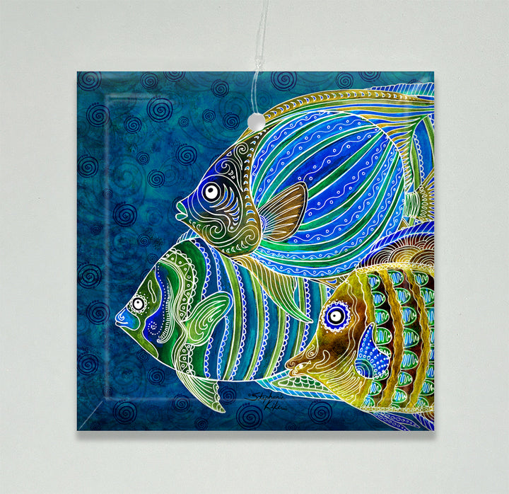 Fish School Ornament/Suncatcher