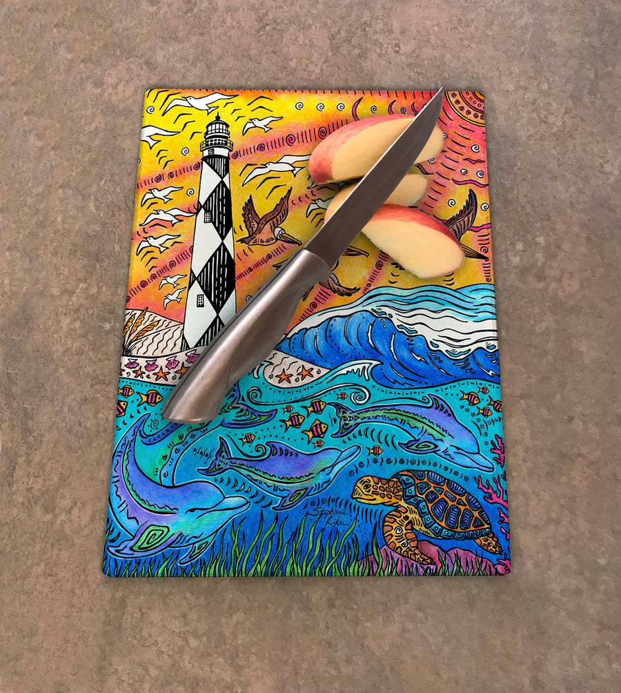 Cape Lookout Cutting Board