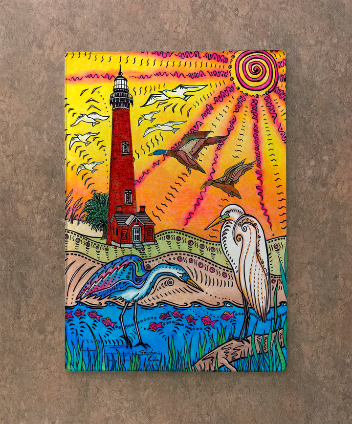 Currituck Lighthouse Cutting Board