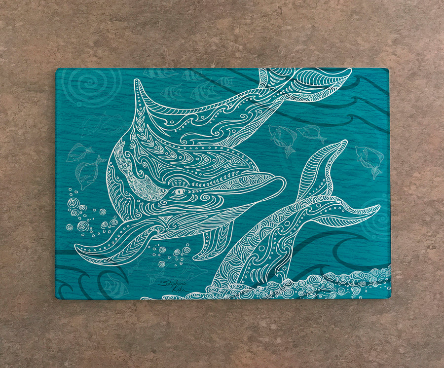 Dolphin One Color Cutting Board
