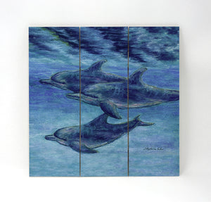 Dolphin Cruise Wall Art
