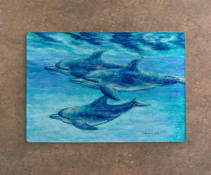 Dolphin Cruise Cutting Board