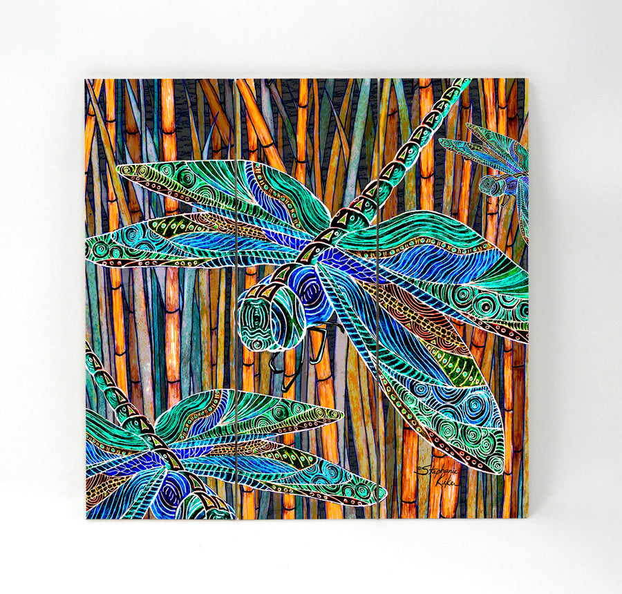 Dragonfly Garden Wall Art