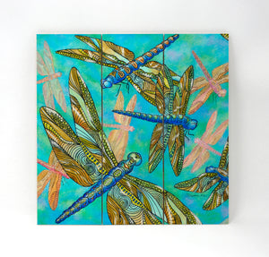 Dragonfly Gathering Wall Art