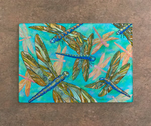 Dragonfly Gathering Cutting Board