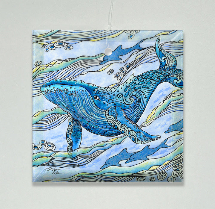 Whale Watch Ornament/Suncatcher