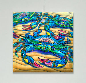 Blue Crabs Ornament/Suncatcher