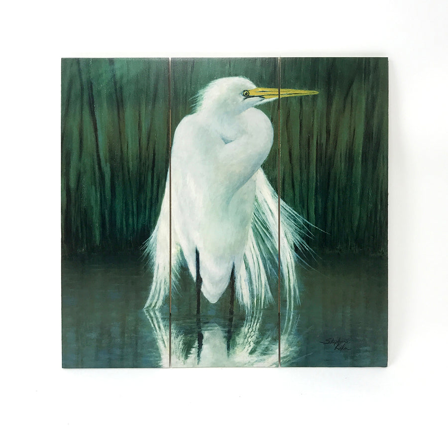 Egret Wall Art