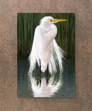 Egret Cutting Board