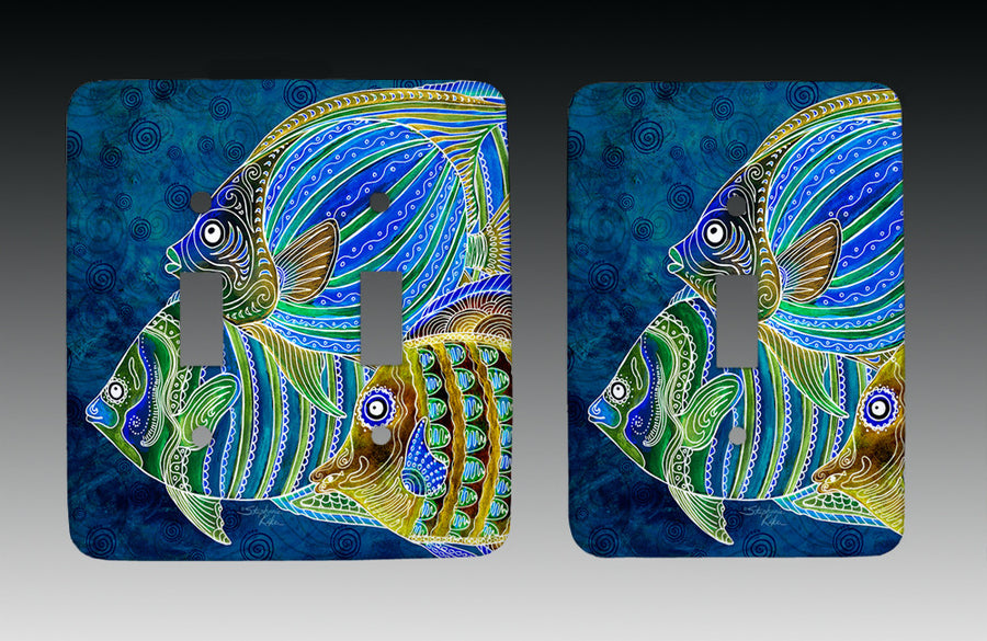 Fish School Light Switch Cover