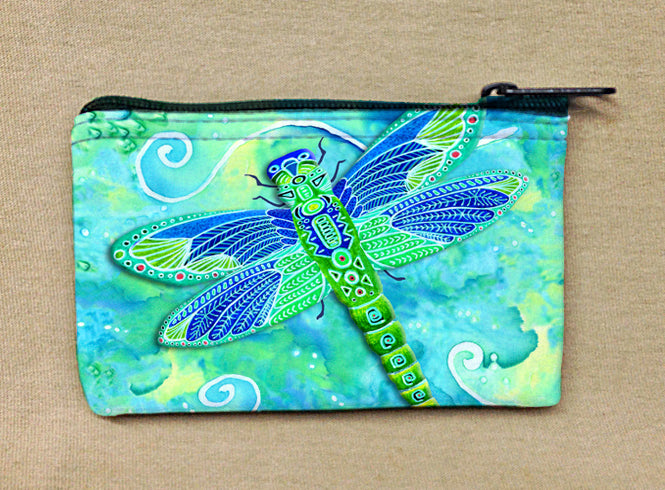 Green Dragonfly Coin Bag