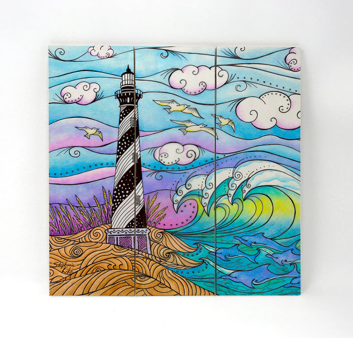 Hatteras Waves Wall Art