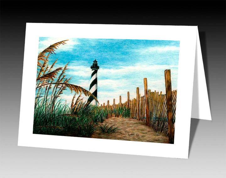 Hatteras Sea Oats Notecard
