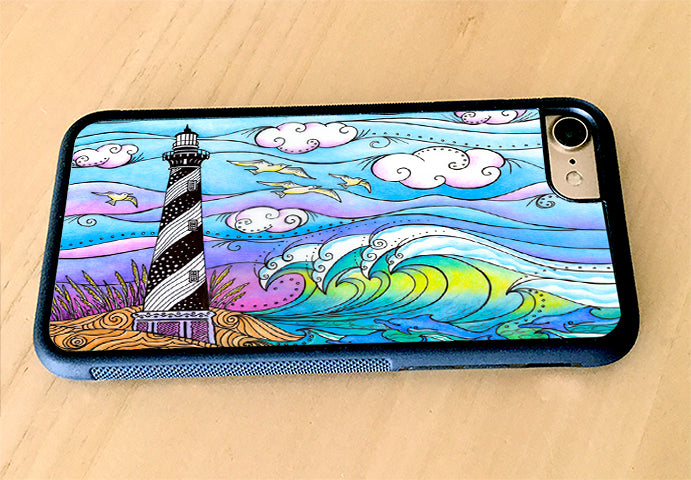 Hatteras Waves iPhone Case
