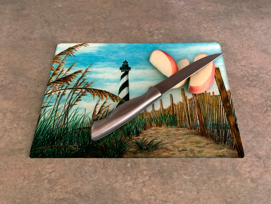 Hatteras Sea Oats Cutting Board