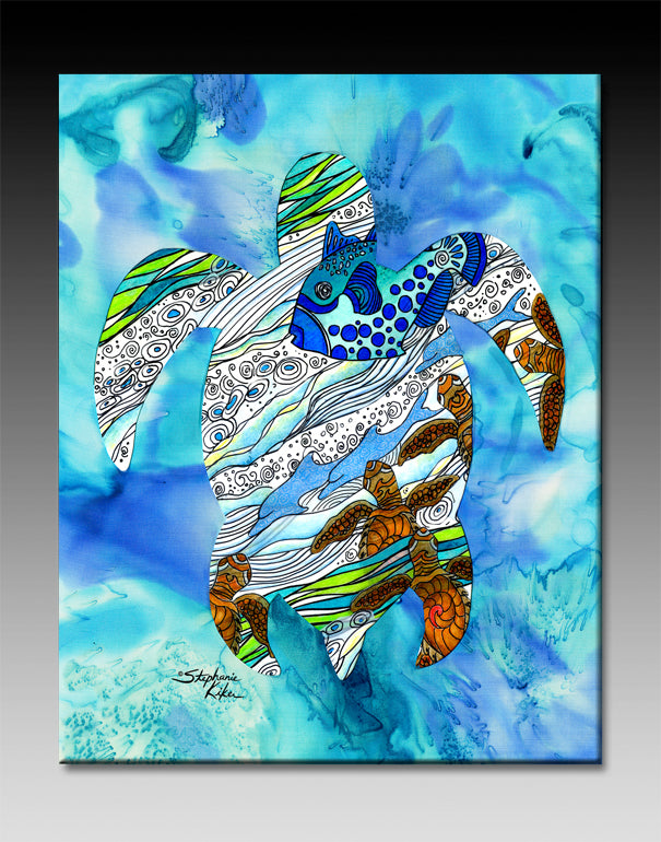Into the Sea Ceramic Tile