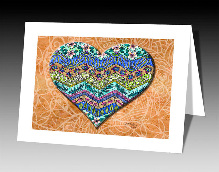 Island Love Notecard