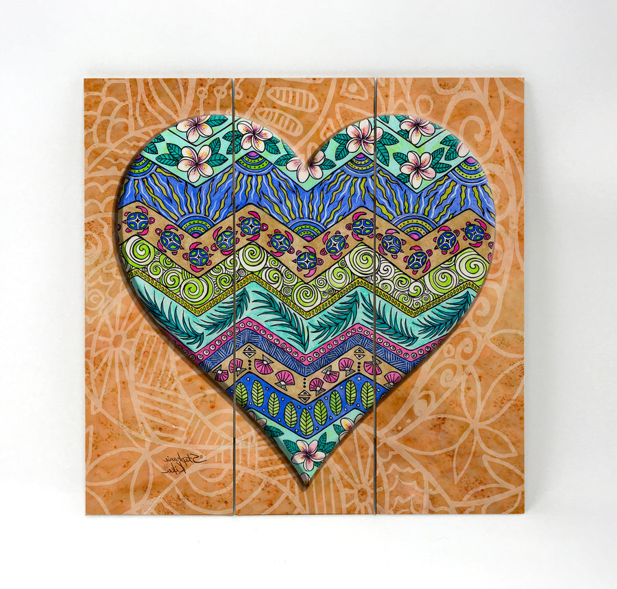 Island Love Wall Art
