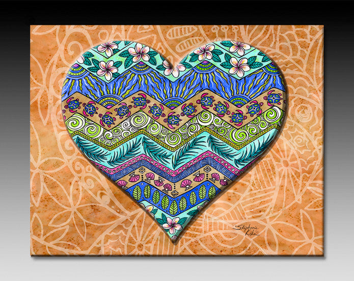 Island Love Ceramic Tile