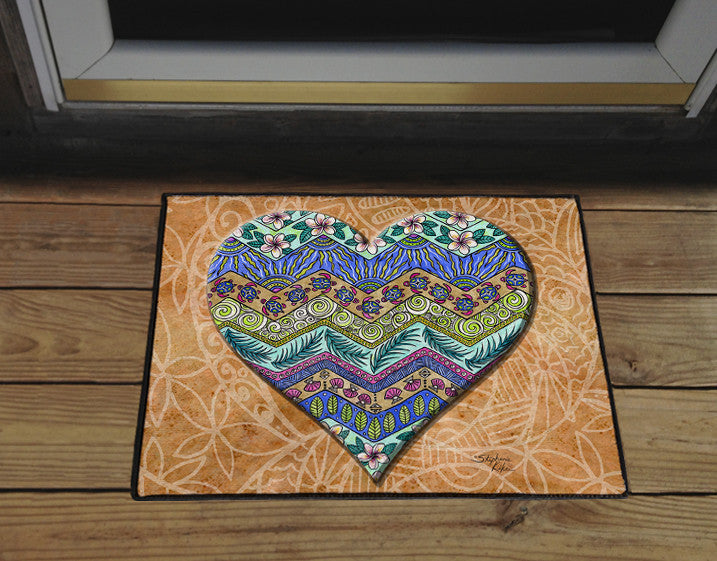 Island Love Door Mat