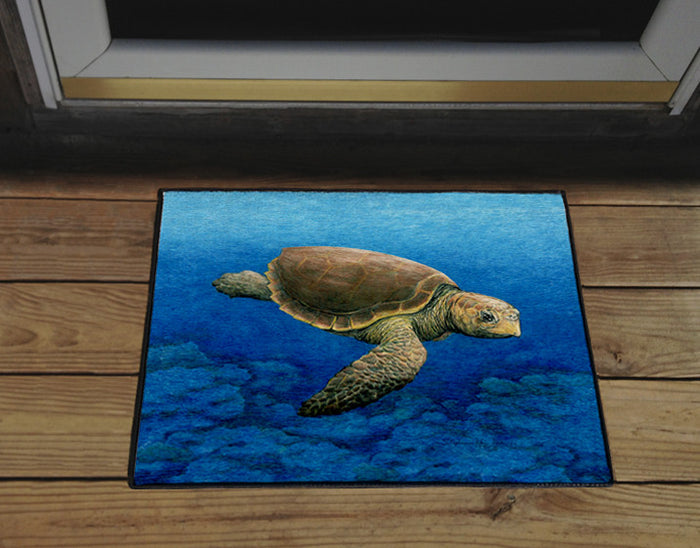 Loggerhead Turtle Door Mat