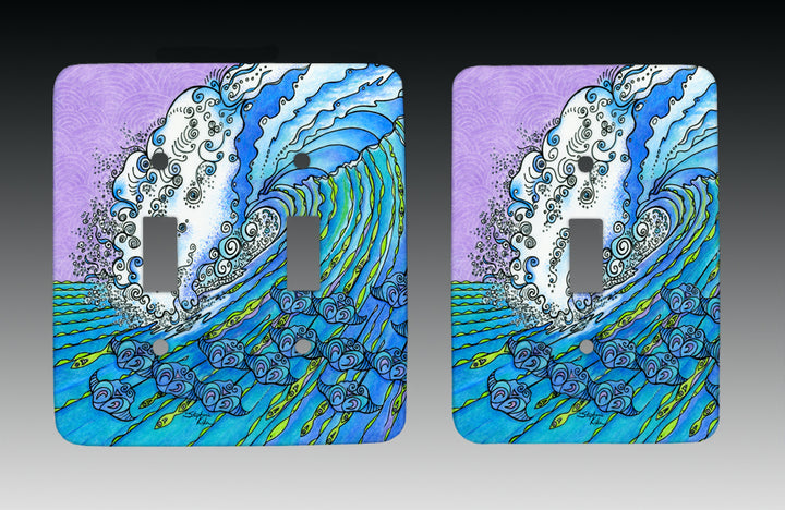 Ocean Life Light Switch Cover