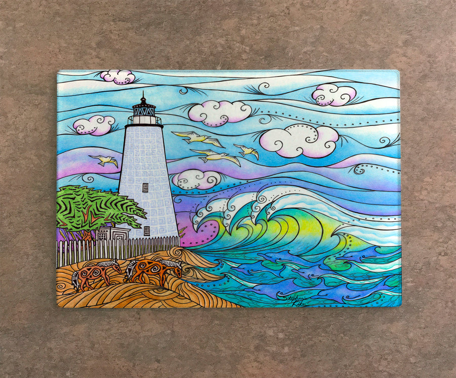 Ocracoke Waves Cutting Board