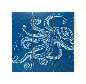 Octopus One Color Wall Art