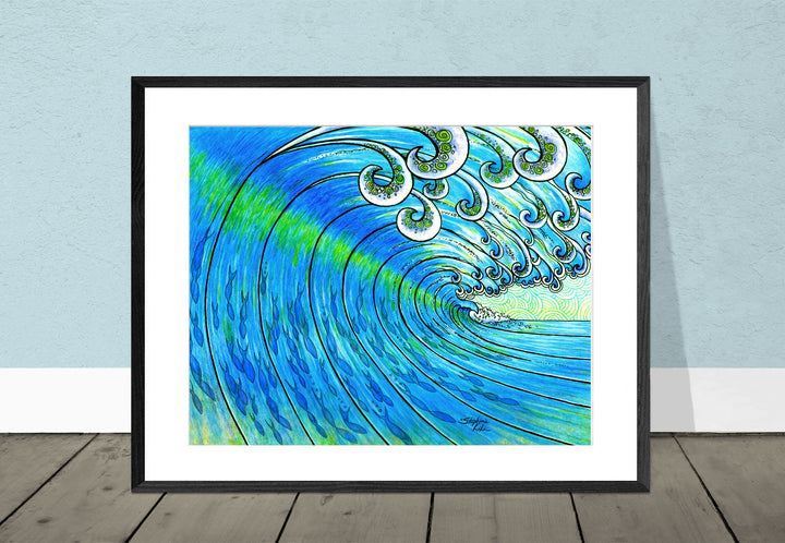 Party Wave Giclee Print