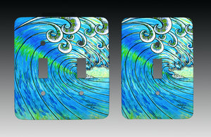 Party Wave Light Switch Cover