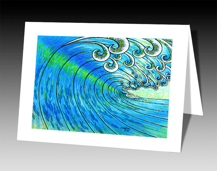 Party Wave Notecard