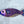 Purple Fish Wood Wall Art