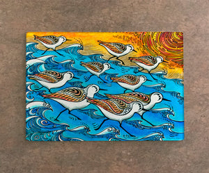 Sanderling Dance Cutting Board