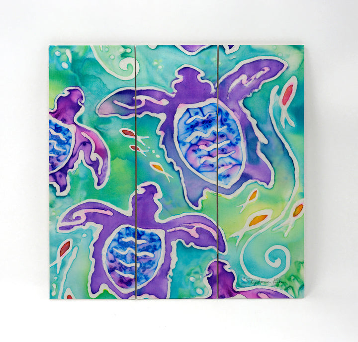 Sea Turtle Swim Wall Art