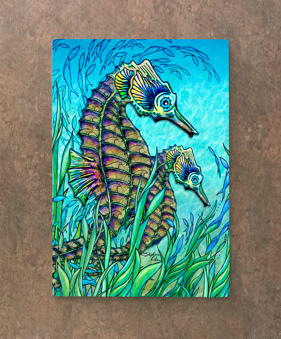 Seahorses Cutting Board